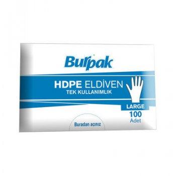 Şeffaf Eldiven HDPE (POŞET) 100lü Paket
