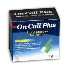 OnCall Plus şeker STRİP 50 Lİ